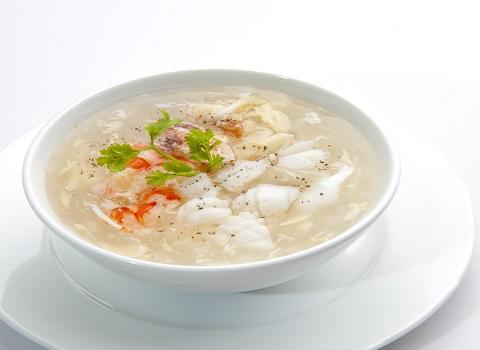 Súp nấm hải sản